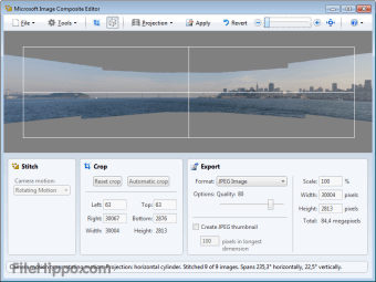 Download Microsoft Image Composite Editor 1 4 4 for Windows