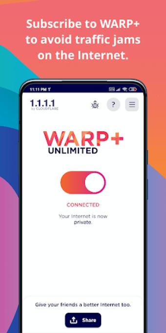 1.1.1.1 w/ WARP