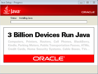 Java Runtime Environment 32-bit