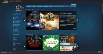 Steam Gaming Platform for PC Windows