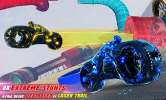 Tron Bike Stunt Racing 3d Stunt Bike Racing Games