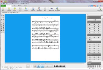 Crescendo Free Music Notation Editor