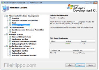 Microsoft Windows SDK for Windows 7 and .NET Framework 4