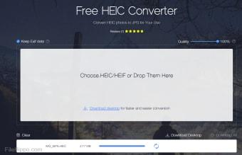 Apowersoft Free HEIC Converter/HEIC to JPEG Converter