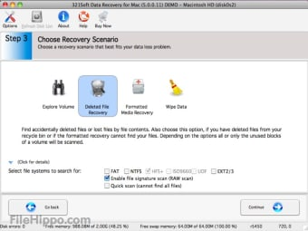 321Soft Data Recovery for Mac