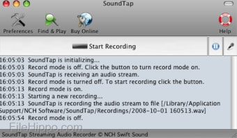 SoundTap Streaming Audio Recorder for Mac