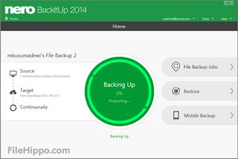 Download Nero BackItUp 19 2 1 56 for Windows - Filehippo com
