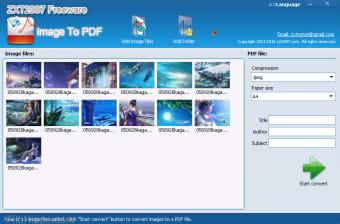 ZXT2007 Image To PDF