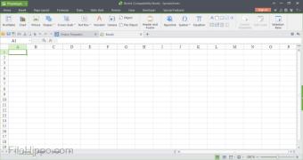 Kingsoft Spreadsheets Free 2013