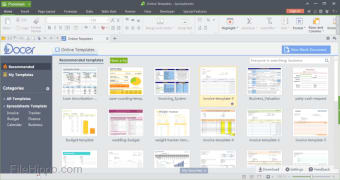 Kingsoft Spreadsheets Free 2013