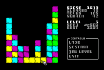 Marbles Squared (ZX Spectrum Next)