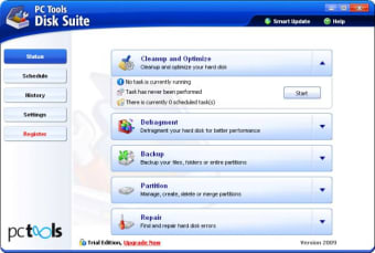 PC Tools Disk Suite