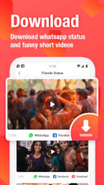 VMate Status - Video Status  Status Downloader