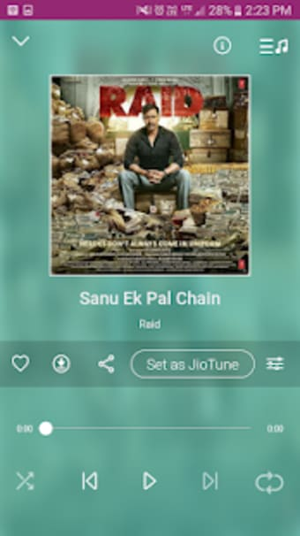Jio Music Pro : Set Caller Tune