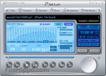 Download jetAudio 8 1 7 for Windows - Filehippo com