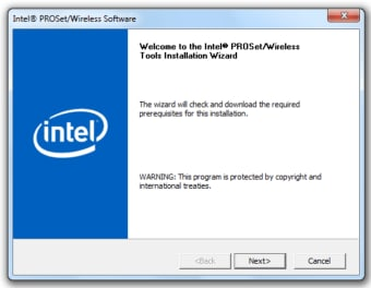 Intel PRO/Wireless and WiFi Link Drivers