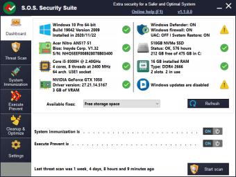 S Security Suite