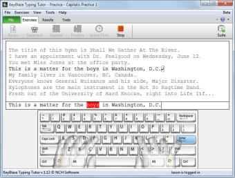 KeyBlaze Free Typing Tutor