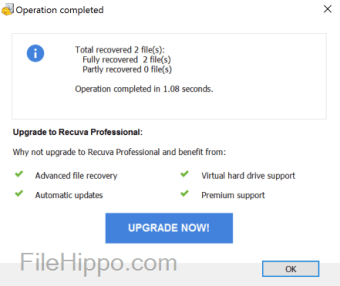 delete data recovery software free download filehippo