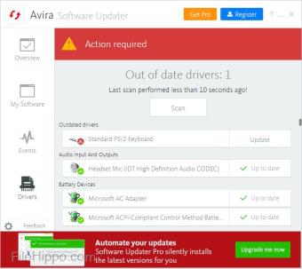Avira Free Software Updater