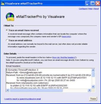 eMailTrackerPro