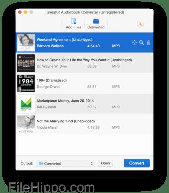 Download TunesKit Audiobook Converter for Mac 3 1 0 for Mac