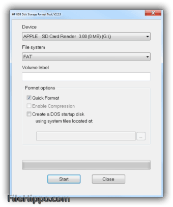 Download HP USB Disk Storage Format Tool 2.2.3 for Windows ...