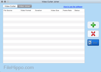 Free Video Cutter Joiner for Mac