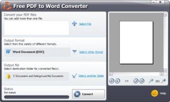 SmartSoft Free PDF to Word Converter