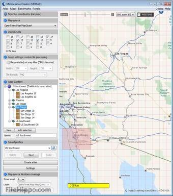 Mobile Atlas Creator 2 1 0 für Windows downloaden - Filehippo com