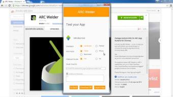 ARC Welder for Chrome