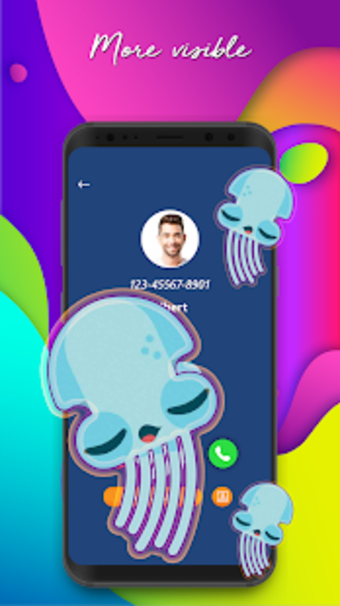 Color Call - Color Phone Flash  Call Screen Theme