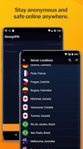 StrongVPN - Your Privacy Made Stronger.