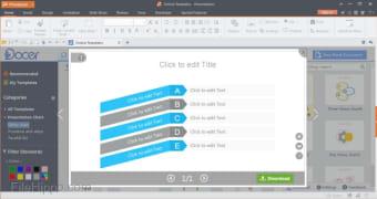 Download Kingsoft Presentation Free 2013 9 1 0 4550 for