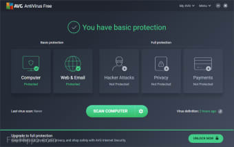 Download AVG AntiVirus FREE 19 6 2383 for Windows