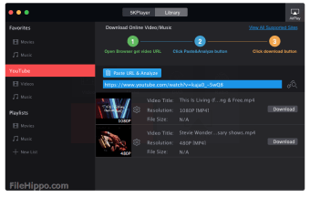 Download 5KPlayer 5 8 for Windows - Filehippo com