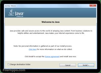 Java Runtime Environment 64-bit