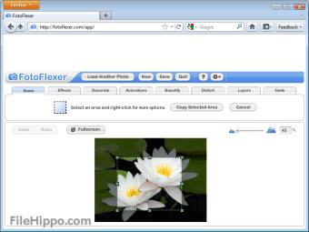 Download FotoFlexer FotoFlexer for Web Apps - Filehippo com