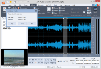 Download AVS Audio Editor 9 0 1 530 for Windows - Filehippo com
