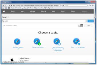 Download Safari 5 1 7 for Windows - Filehippo com
