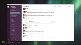 Slack Team Messenger Web Client