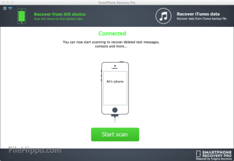 SmartPhone Recovery PRO iOS for Mac