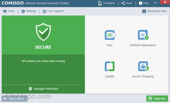 Download Comodo Internet Security 12 0 0 6818 for Windows