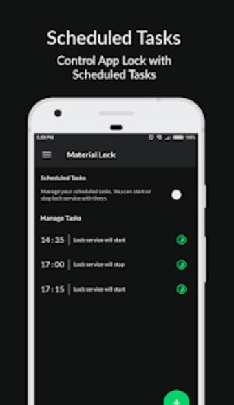 Material Lock - Applock  Fingerprint Lock