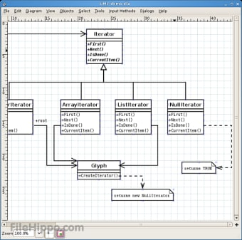 Dia Diagram Editor