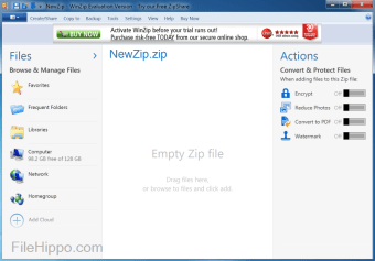 Download WinZip 23 0 13431 for Windows - Filehippo com