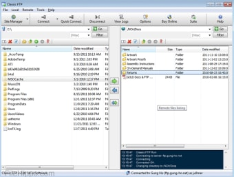 Classic FTP Free File Transfer Client
