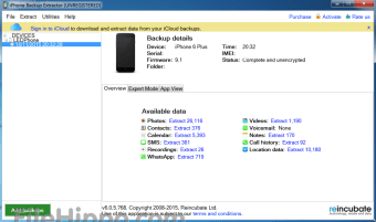iphone backup extractor windows full version