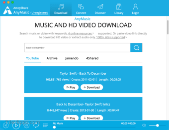 AnyMusic MP3 Downloader for Mac