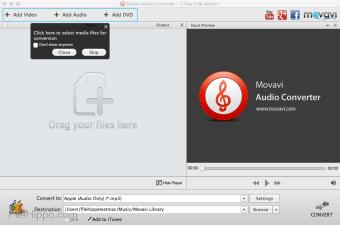 Movavi Audio Converter for Mac